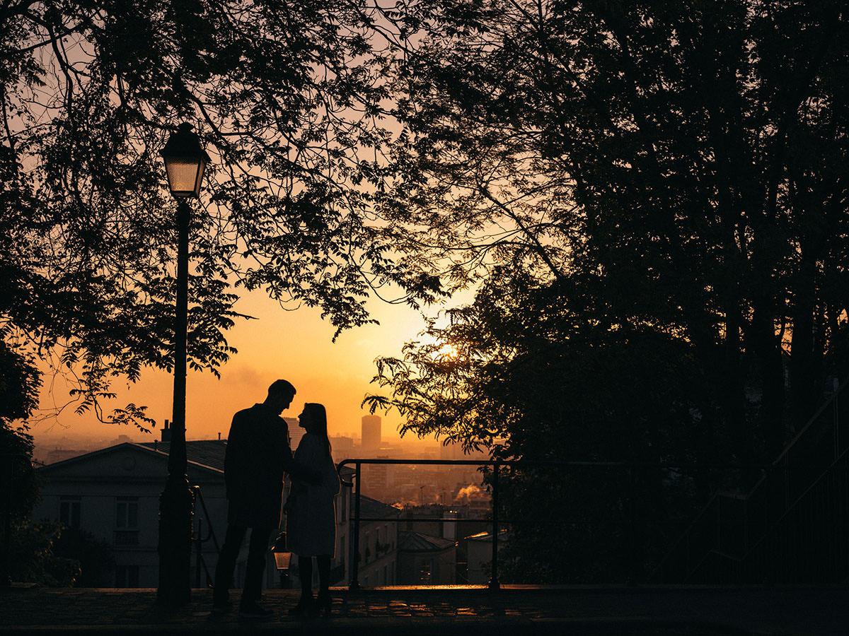 BW Engagement Photography Paris 001