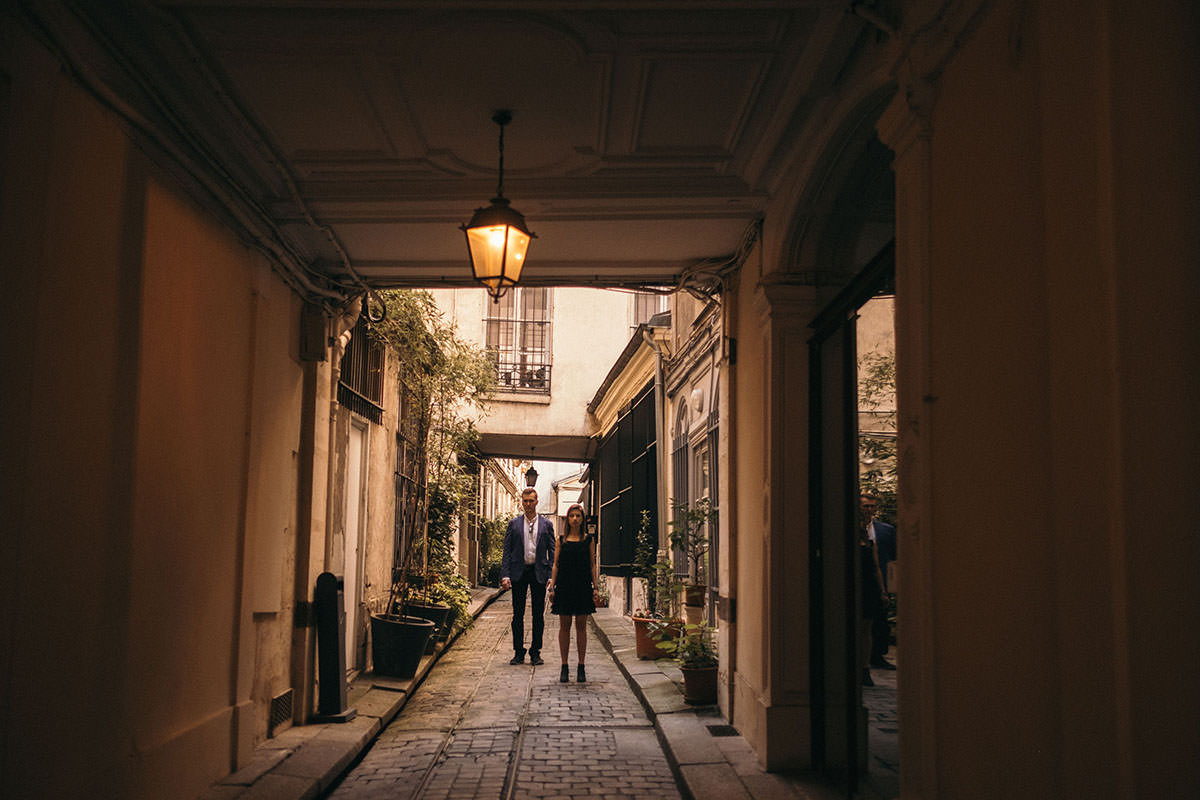BW Engagement Photography Paris 011