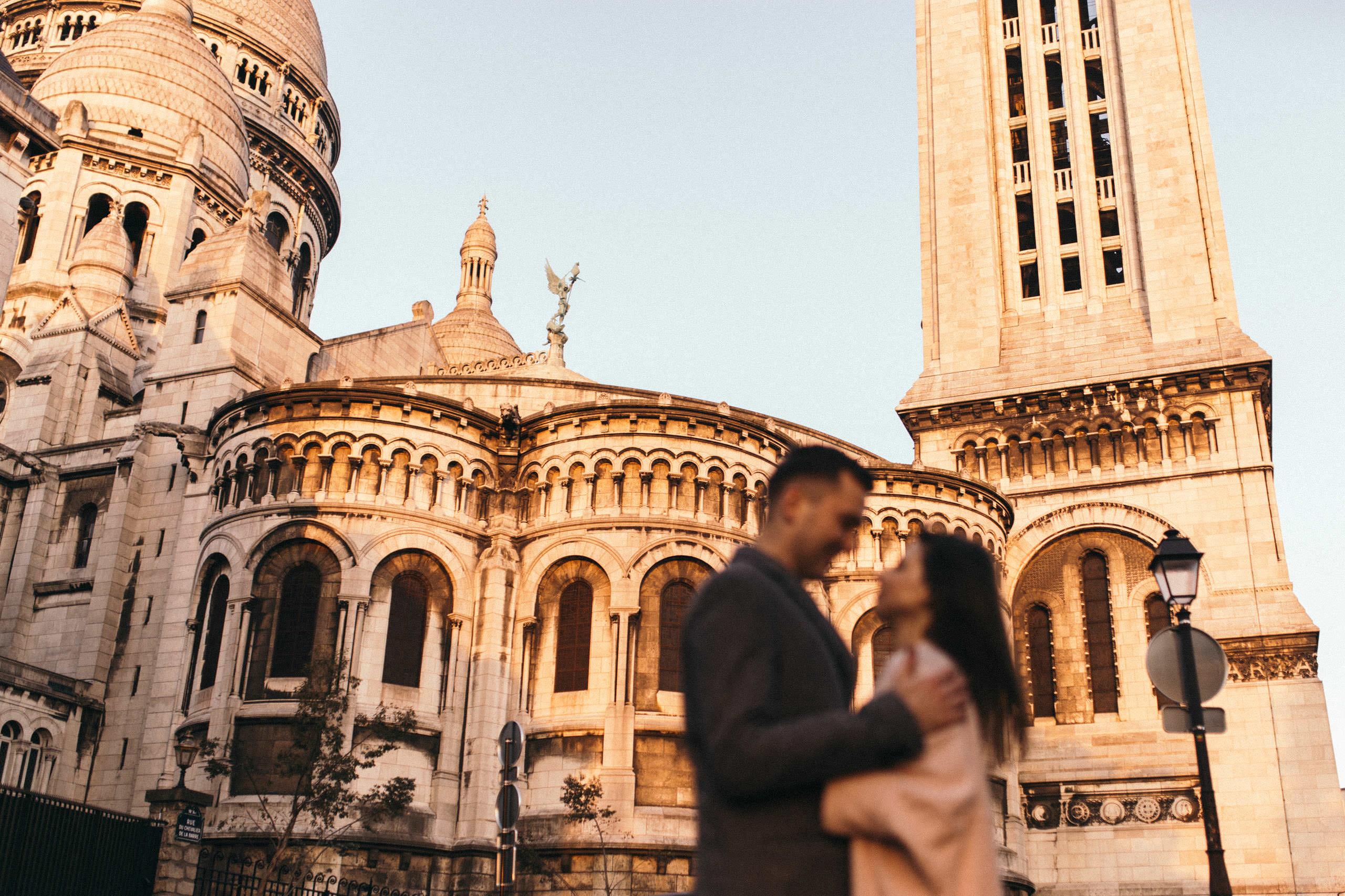 B&W - Engagement Photography Paris BW Engagement Photography Paris
