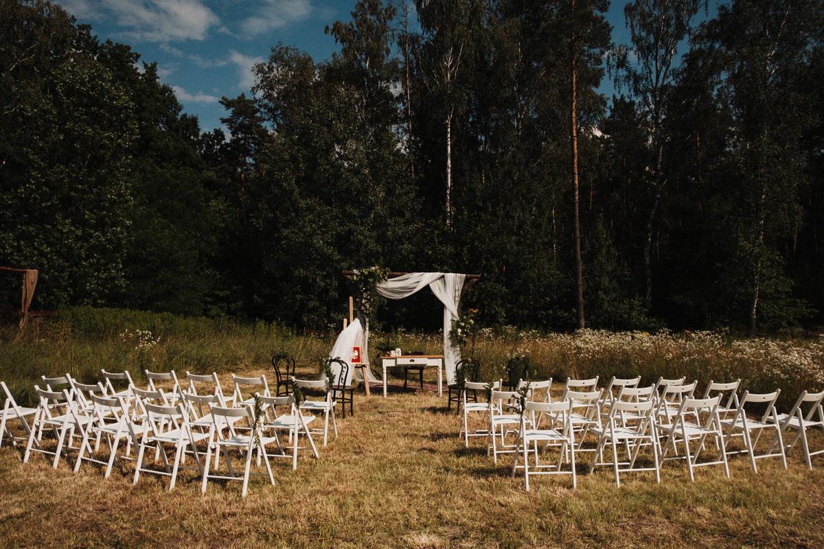 Cicha 23 - polana na ślub plenerowy