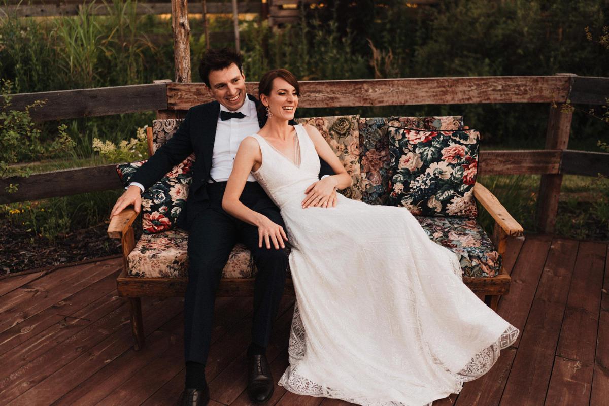 Cicha 23- plener w dniu ślubu młodej pary