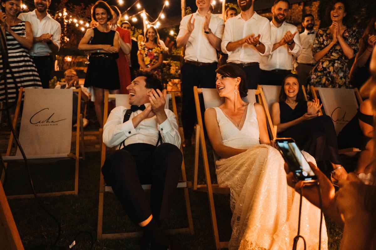 Cicha 23 - film w plenerze podczas wesela